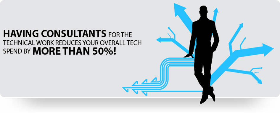 It Consultant Banners Business Welcome Banners